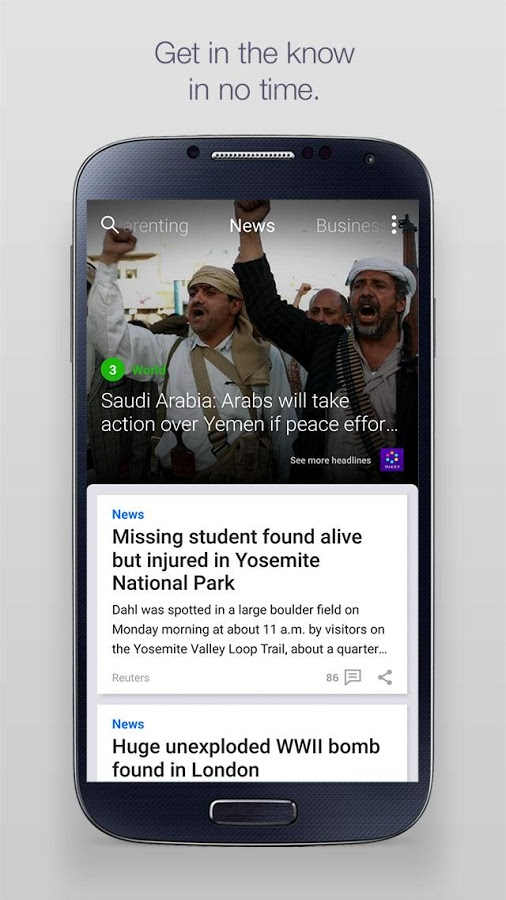 Yahoo! – News, Finance, Business, Sports & More1