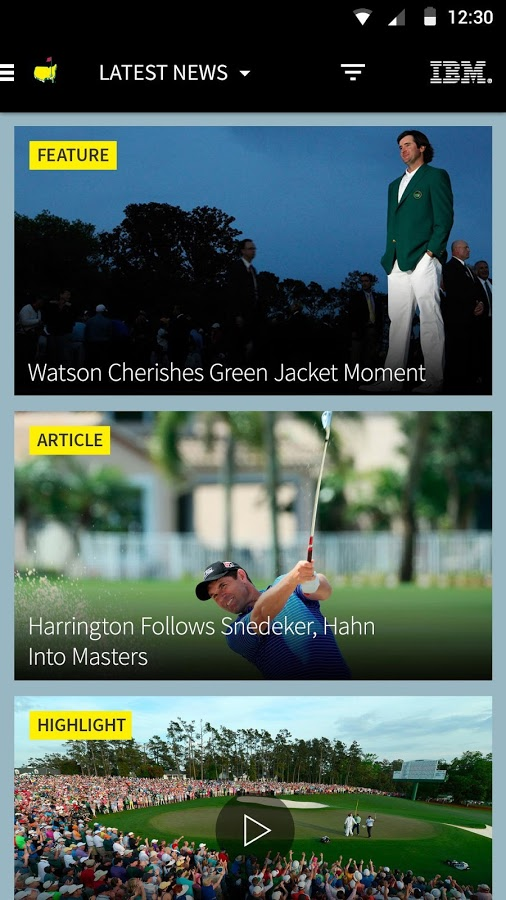 The Masters Tournament3