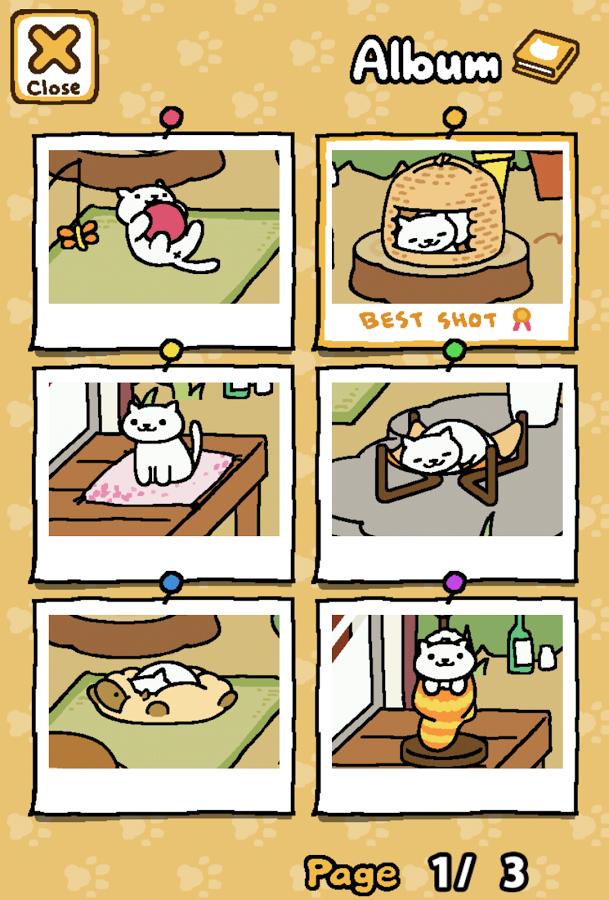 Neko Atsume Kitty Collector9