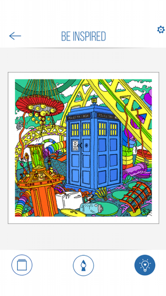 BBC Colouring Doctor Who14