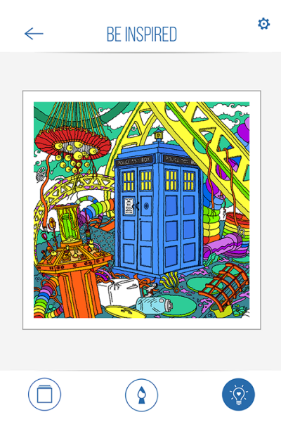 BBC Colouring Doctor Who4