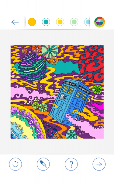 BBC Colouring Doctor Who7